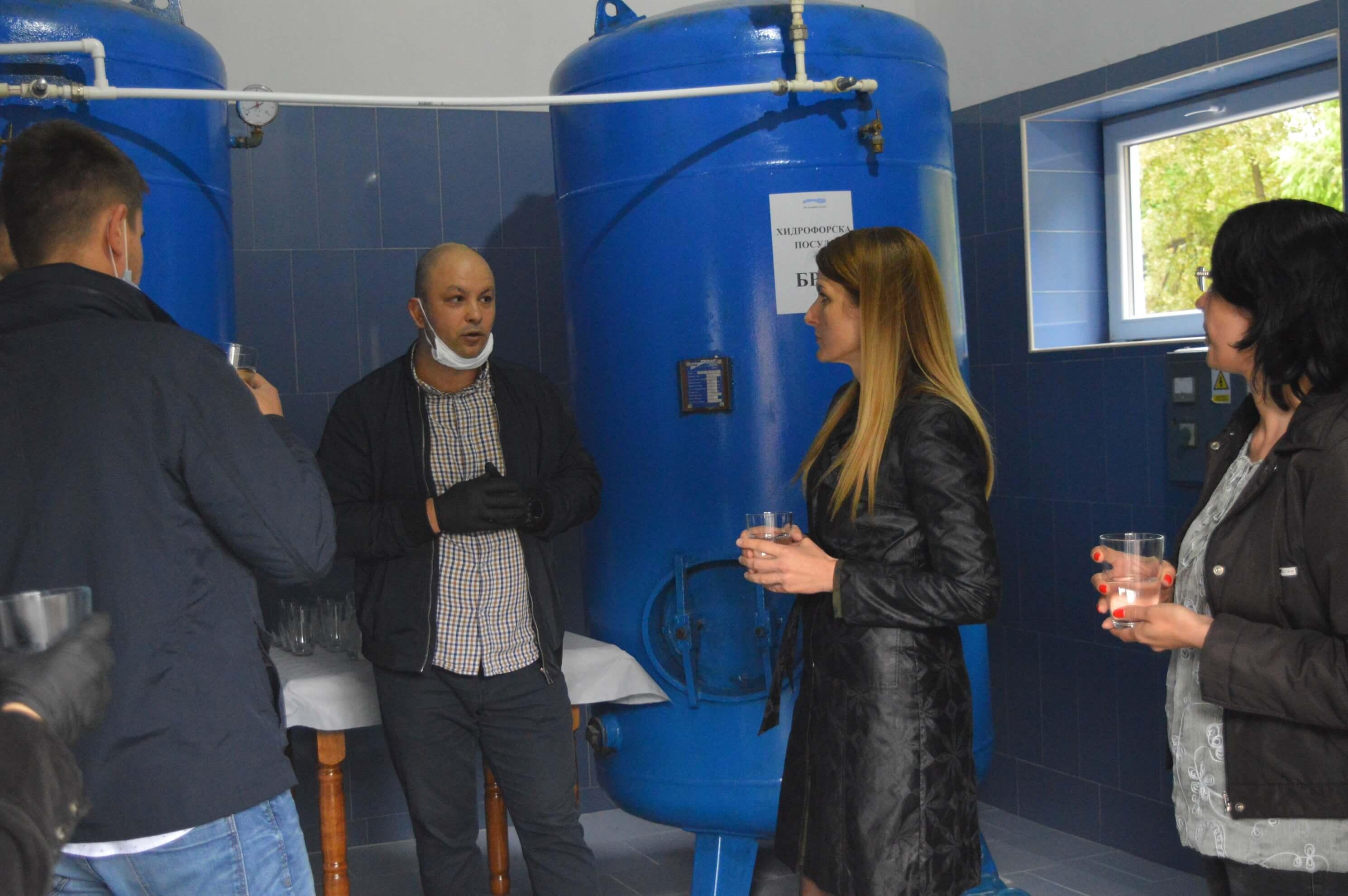Дохлорна станица за пречишћавање воде у Колуту пуштена у рад