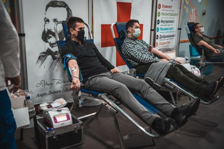 Прва акција добровољног давања крви у 2021. години