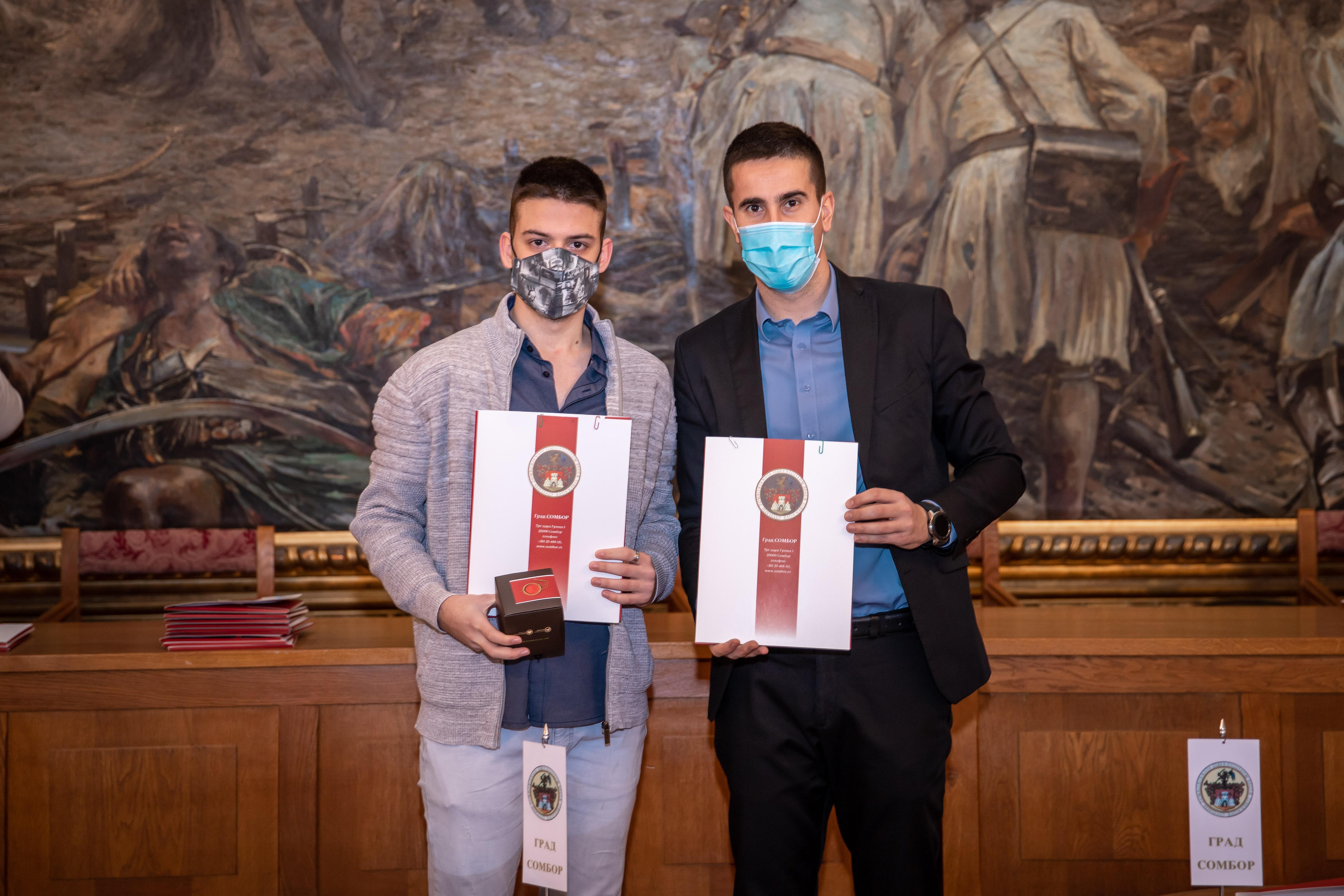 Студент стипендиста и градоначелник Антонио Ратковић