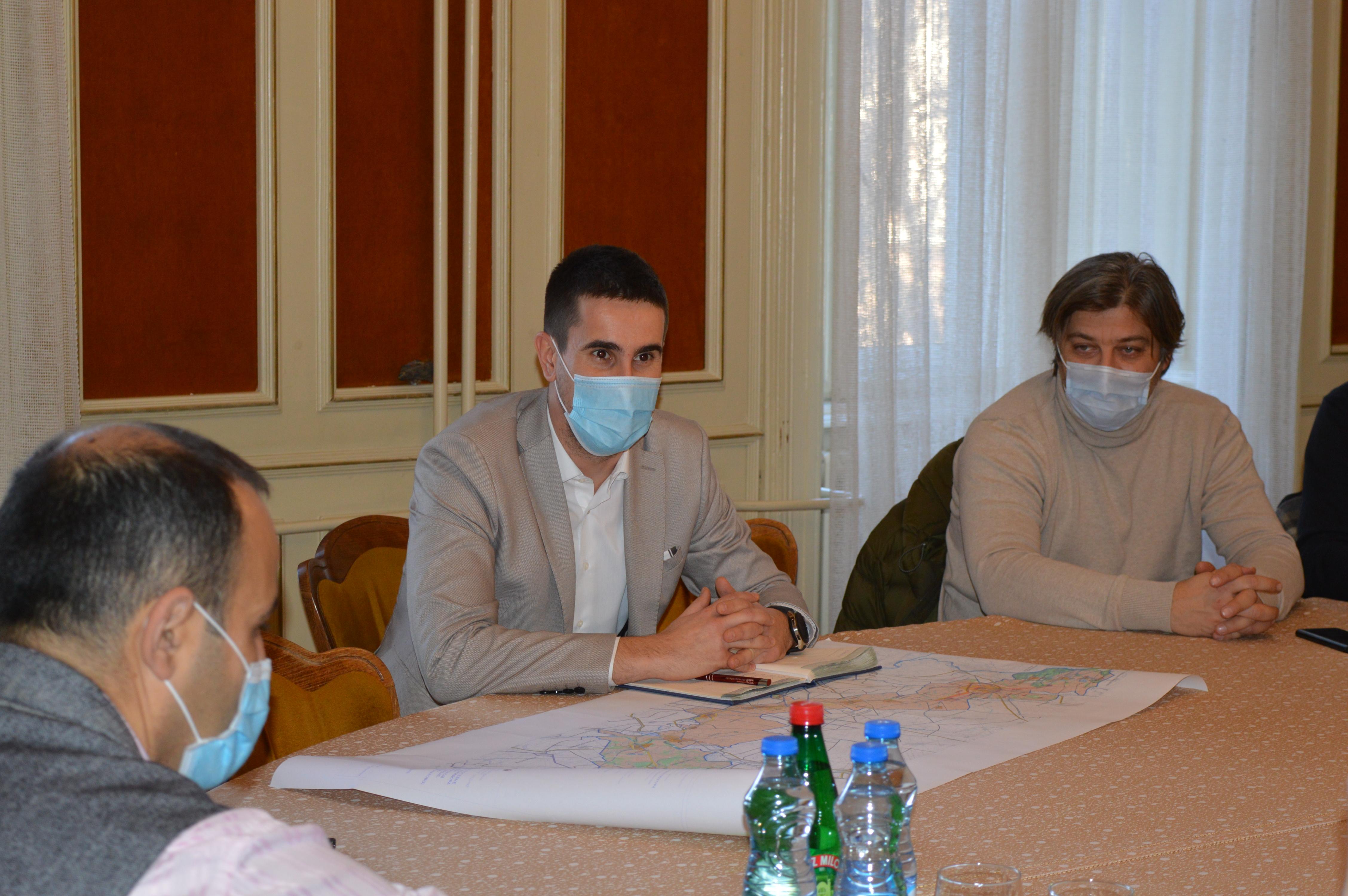 """Градоначелник Антонио Ратковић и тим сарадника састали су се са пројектним тимом компаније """"MHM-Projekt"""""""