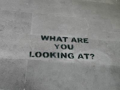 un graffiti de Banksy