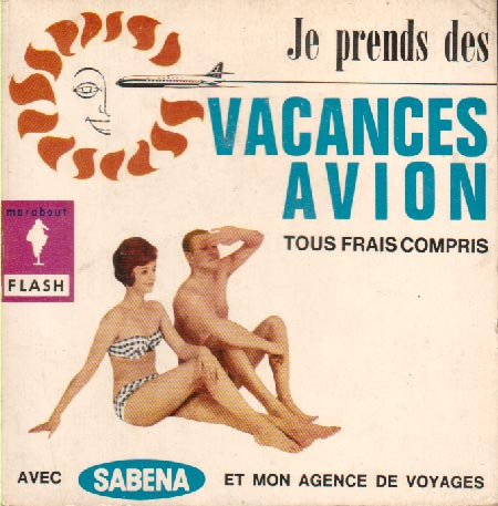 Je prend des vacances en avion (Marabout Flash 24/31)