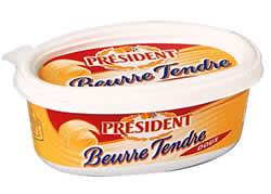 beurre président