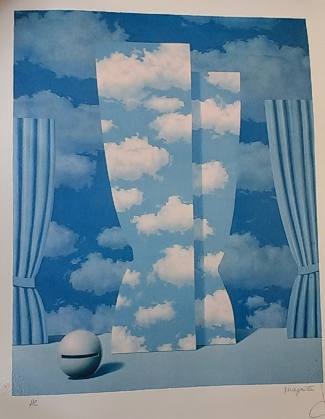 Acheter une lithographie Magritte, aider MSF : avec toi ?