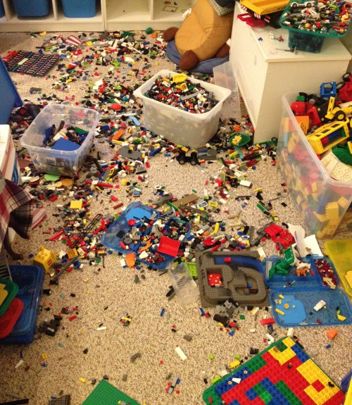 Image result for a floor full of lego toys