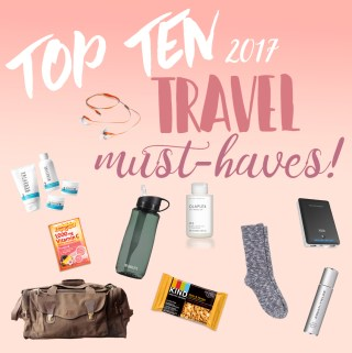Tuesday Top Ten: Travel Must-Haves!