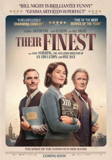 Their Finest film poster