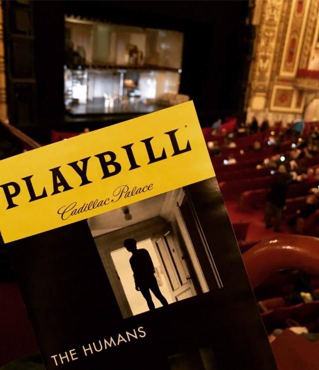 the humans playbill