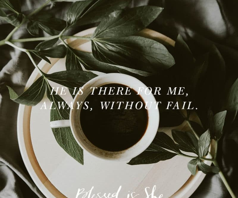 Blessed Is She Post: How Jesus Reassured Me Over Coffee