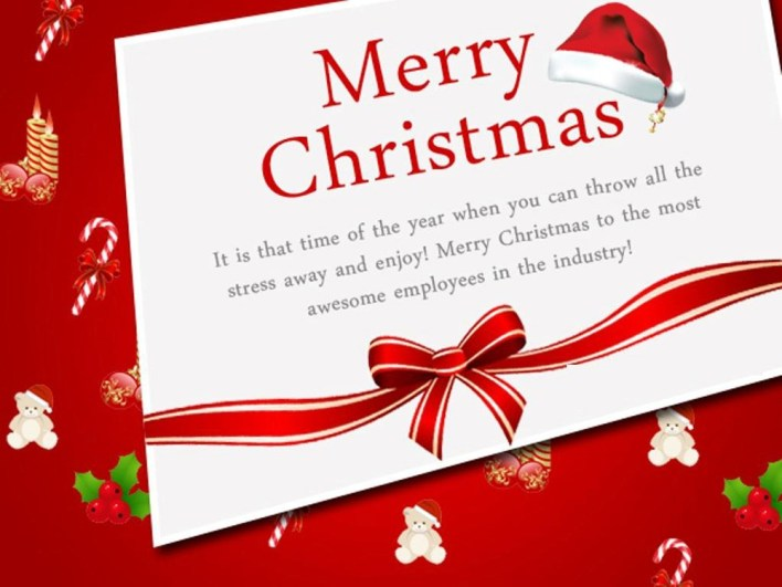 56 Christmas Message for Employees to Appreciate Them - Some Events