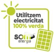 Utilizamos electricidad 100% verde