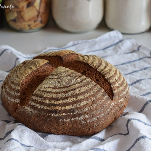 Sourdough Einhorn Bread