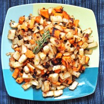 Hash Browns with Yams and Thyme