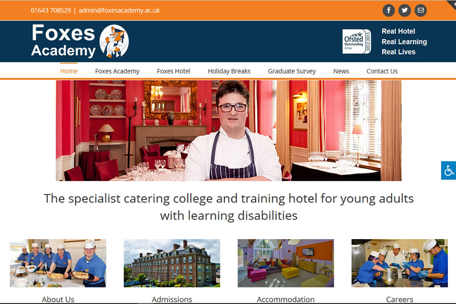Website for your adults with learning disabilities