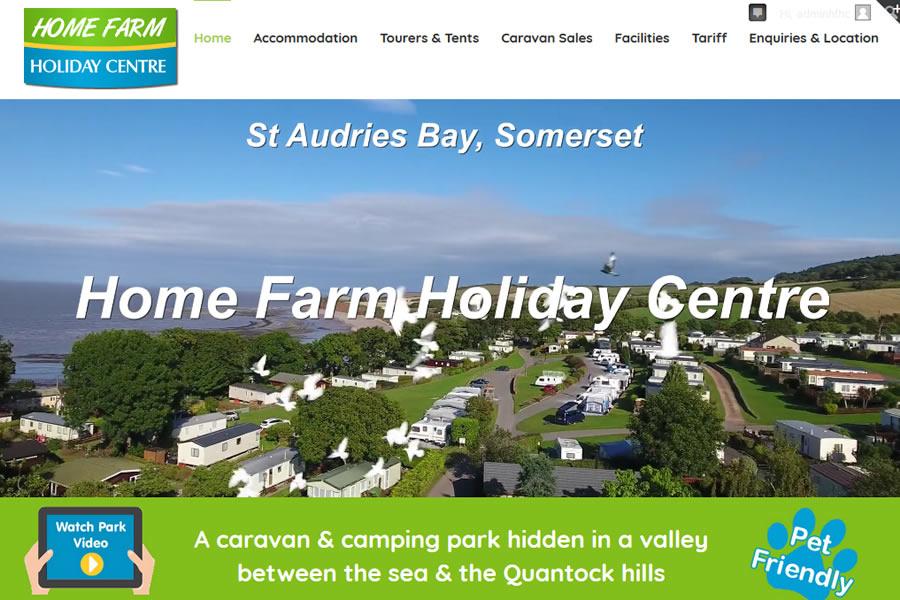 Holiday Park Website Designers in Somerset