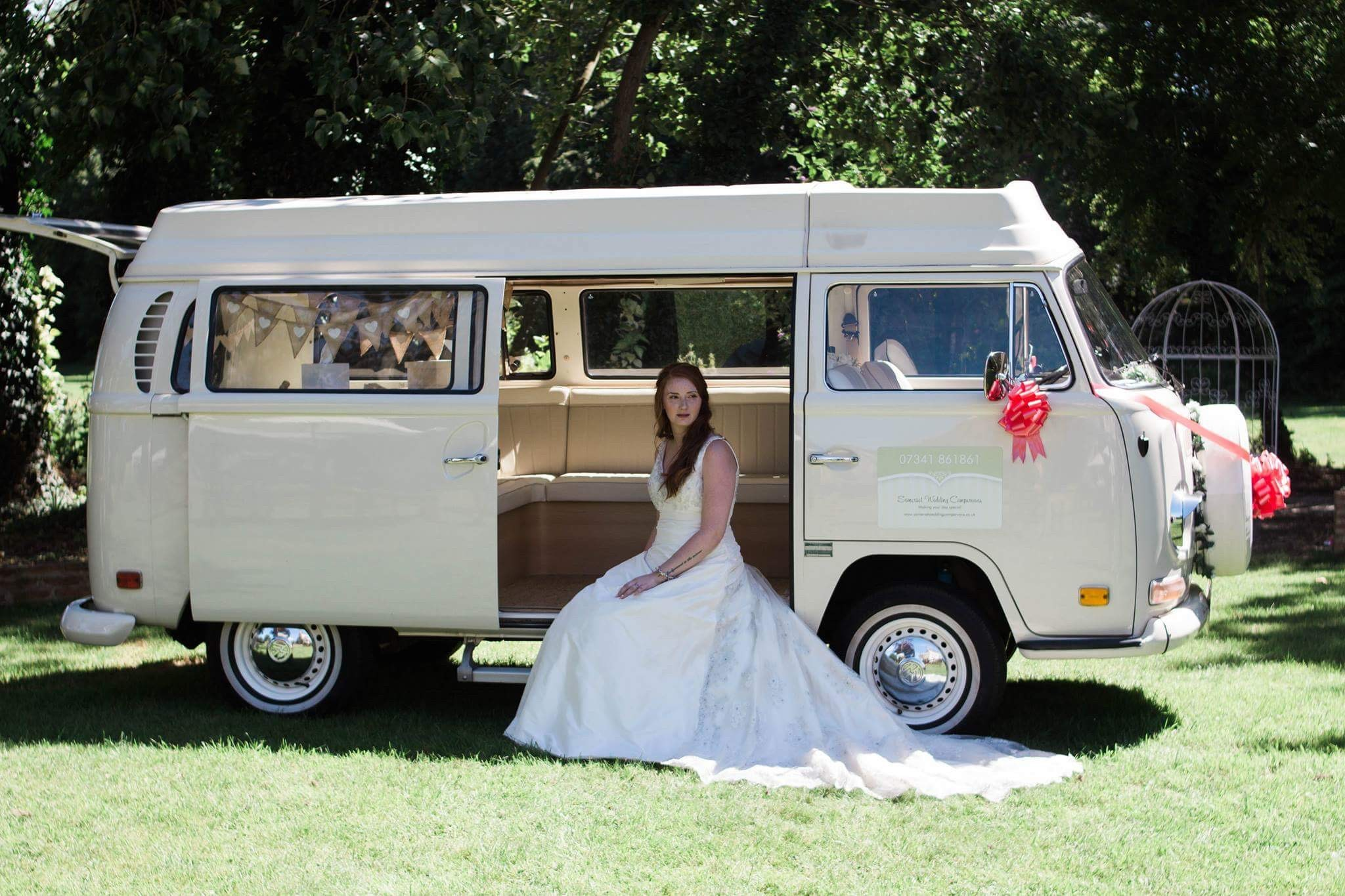 VW Wedding Campervans Somerset