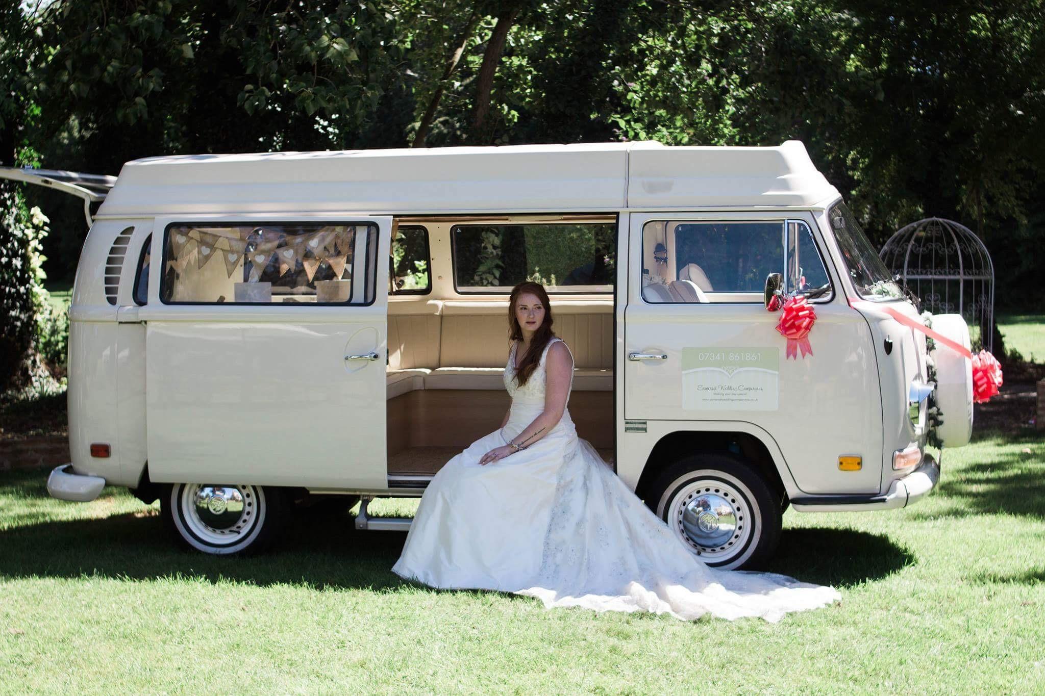 VW Wedding Campervans Somerset
