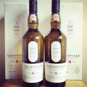 Lagavulin 8yo Bottles
