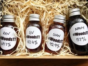 Woods Rum Samples