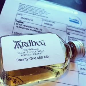 ardbeg 21yo committee release sample