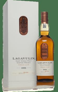 Lagavulin 1991 bottle