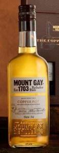 mount gay copper pot bottle