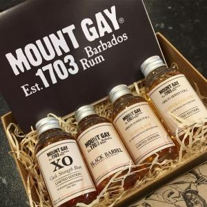 mount gay twitter tasting samples