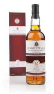 syndicate 58/6 12 year old whisky