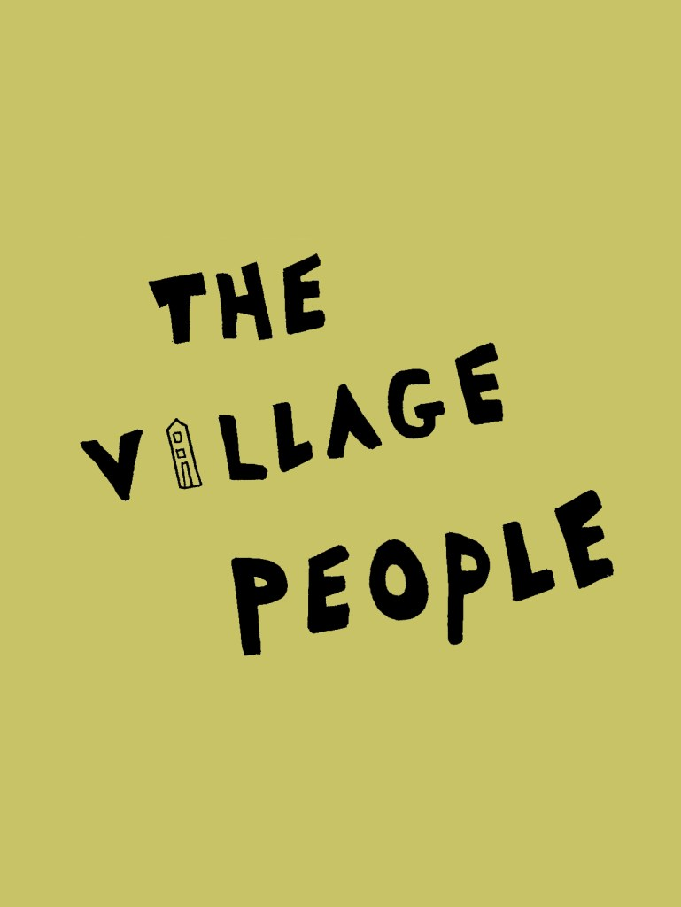 Yellow village people by Some small stories