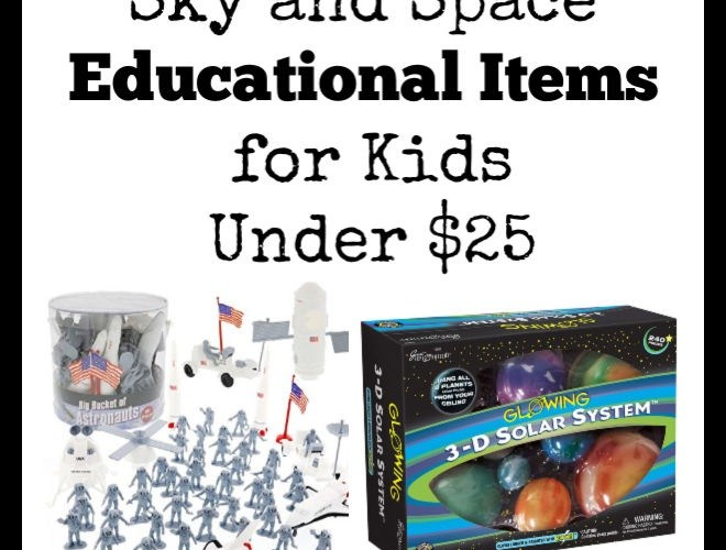 Sky and Space Educational Items Under $25