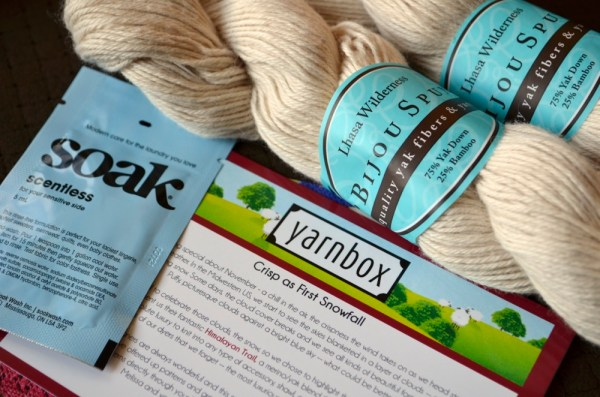 November's Yarnbox
