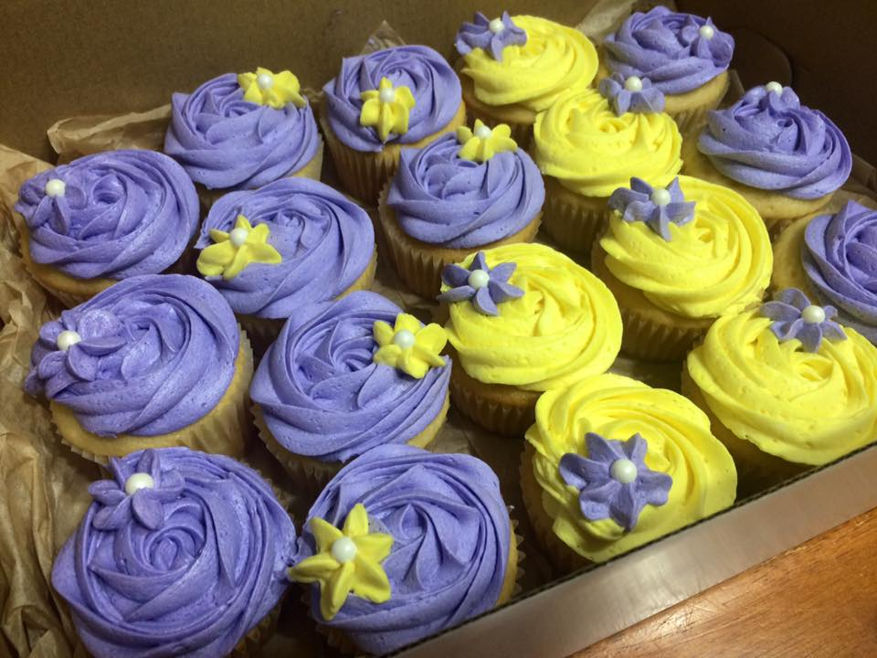 Retirement Party Cupcakes