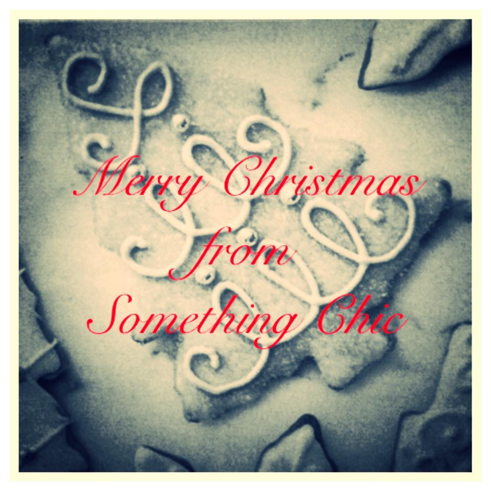 Merry Christmas from Something Chic's Cake Shop