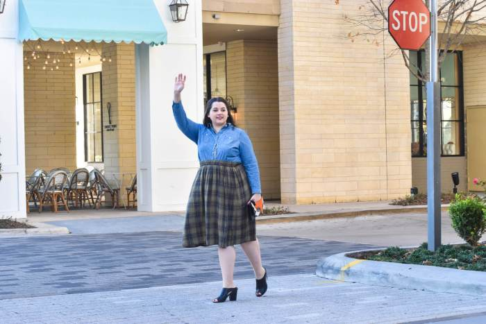 Transitioning to Spring | Something Gold, Something Blue Blog | Plus size fashion for transitioning to a new season