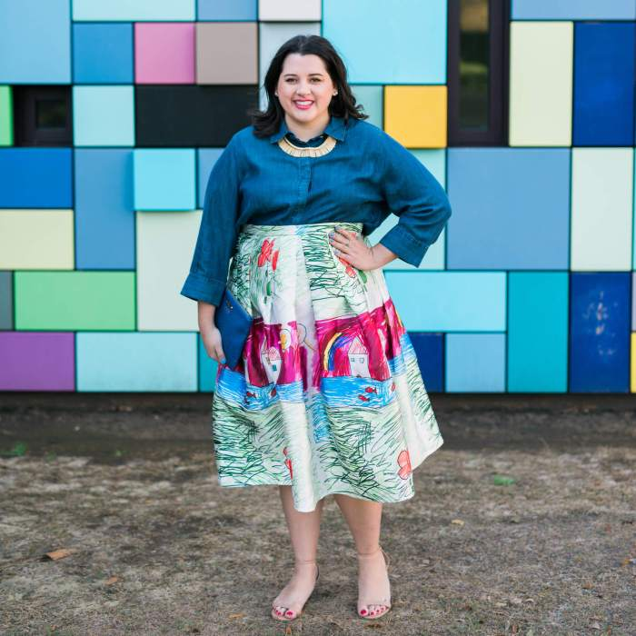 Thrive Blog Conference Party - Something Gold, Something Blue style blog - one of my favorite outfits ever an is perfect for a Friday night party outfit or for an Easter outfit