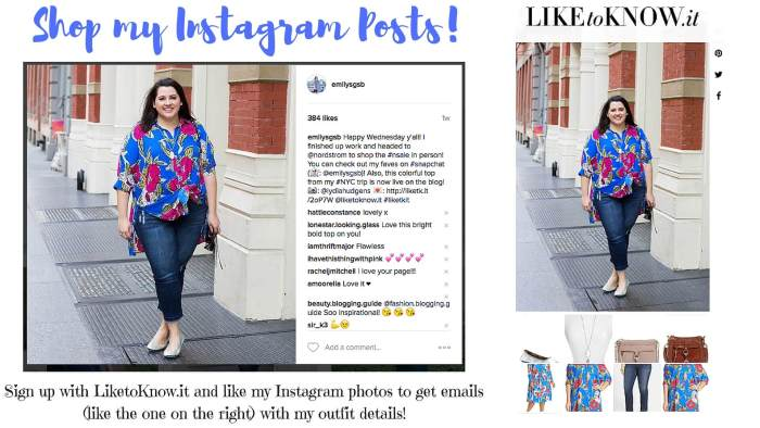 Shop my Instagram posts by signing up with LiketoKnow.it!
