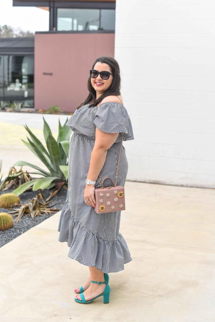 Give Me All the Gingham Clothing by popular Houston fashion blogger Something Gold, Something Blue