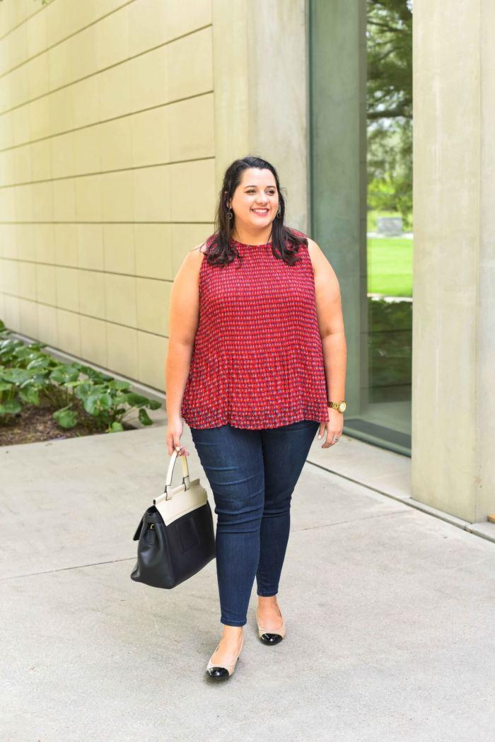 Plus Size Wit & Wisdom Jeans Review