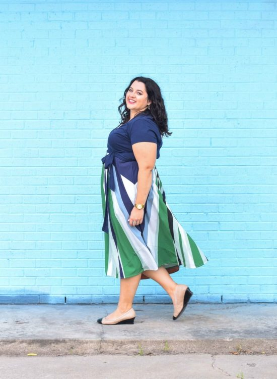 Gywnnie Bee is the perfect way to have an endless work wardrobe. #plussize