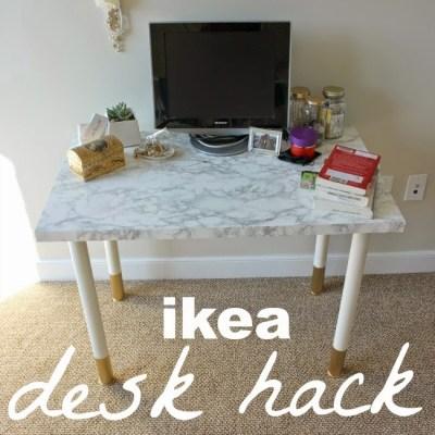 Easy-Peasy Desk DIY