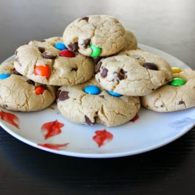 Saturday's Something Good: M&M Chocolate Chip Cookies