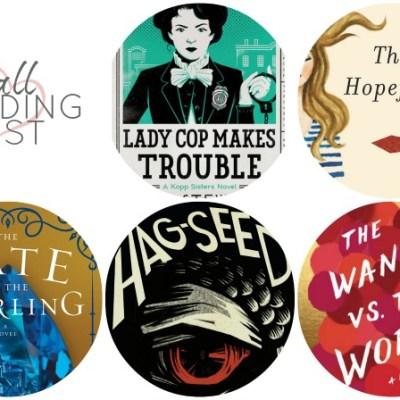 Sunday Book Club: My Fall Reading List