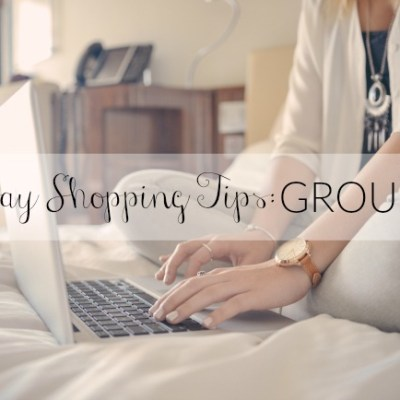 Holiday Shopping Tips: Groupon Coupons