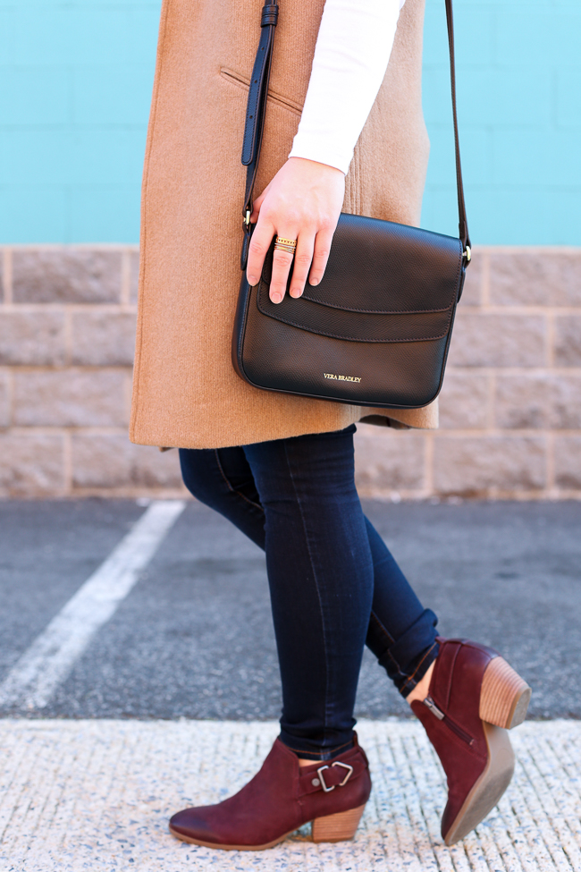 The Camel Blazer Vest | Something Good, vince camuto ankle boots
