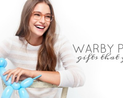Gifts that Give Back: Warby Parker