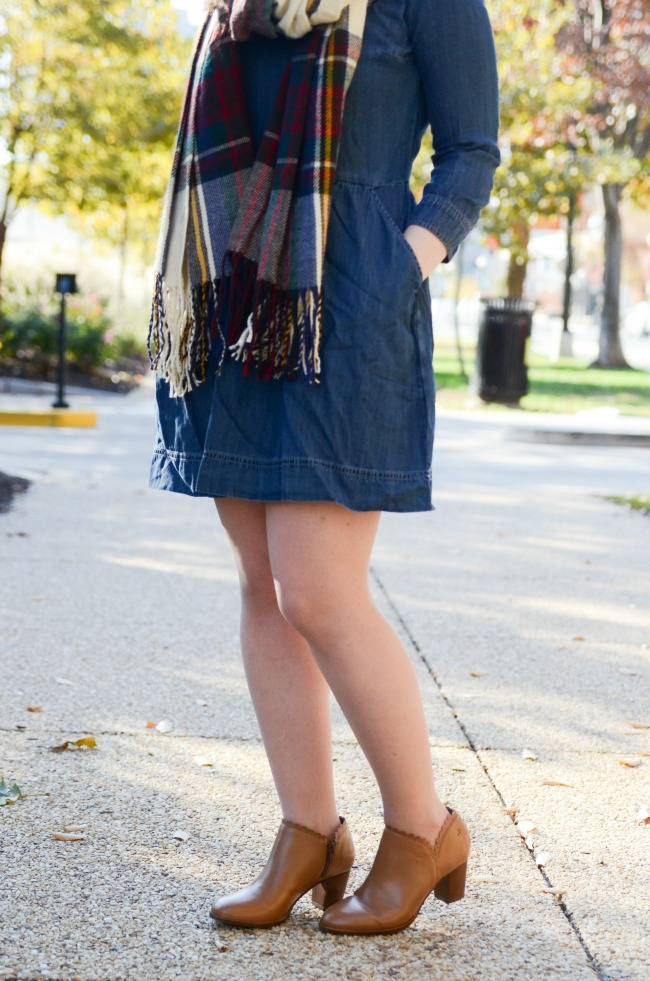 The Denim Dress (Part 2) | Something Good, denim dress, dress with pockets, abercrombie and fitch, a&f, dress