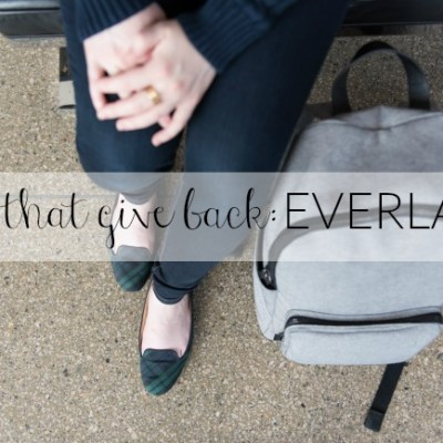 Gifts that Give Back: Everlane