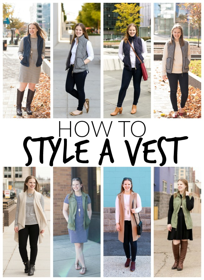 How to Style a Vest | Something Good