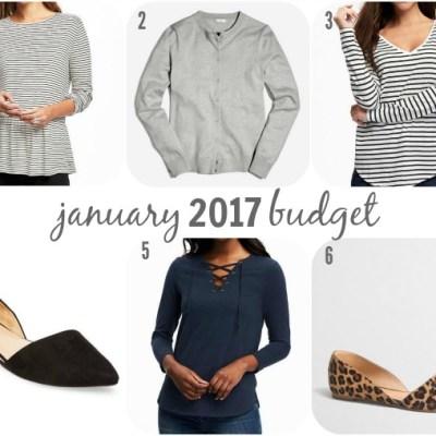 January 2017 Budget