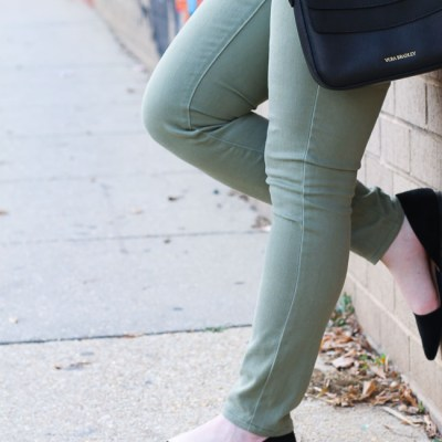 The Army Green Jeans